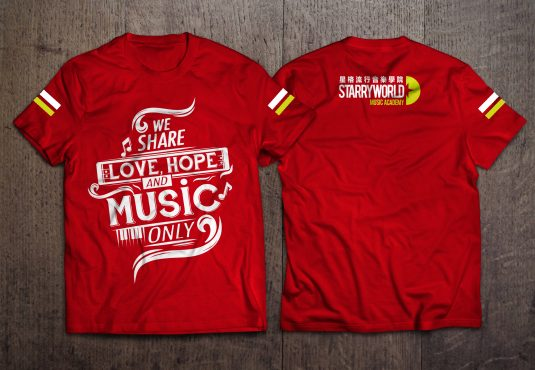T=shirt (red)